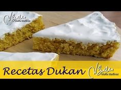 Bizcocho Dukan de Yogur, sin yemas (Ataque) | Recetas Dukan Maria Martinez