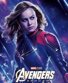 Avengers Endgame movie poster - 11 x 17 - Captain Marvel (b) Brie Larson Marvel Dc, Marvel Comics, Films Marvel, Marvel Heroes, Hawkeye Marvel, Poster Marvel, Avengers Poster, The Avengers, Avengers Characters