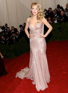 Blake Lively in Gucci | MET Gala 2014