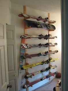 rack à ski - Recherche Google