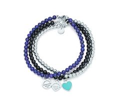 Tiffany OFF! Return to Tiffany™ round and heart tags on bead bracelets. Tiffany Bead Bracelet, Tiffany Bracelets, Tiffany Necklace, Bow Bracelet, Tiffany Jewelry, Tiffany Key, Bling Jewelry, Jewelery, Jewelry Accessories