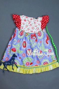Matilda Jane Platinum Strawberry Pie flutter size 2