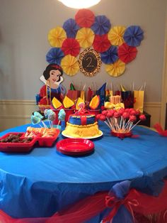 Snow white party Michelle 2 years