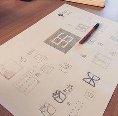 Beauty Square - Création du logo et de l'identité visuelle Digital Print, Graphic Design, Logo, Advertising Agency, Corporate Design, Logos, Logo Type