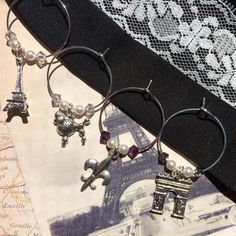 France Wine Charms