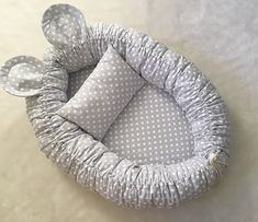 😺🐶 How to add a pet room to tiny space? to learn ideas of c Baby Nest Pattern, Baby Nest Bed, Baby Sewing Projects, Baby Room Design, Baby Bedroom, Baby Crafts, Baby Decor, Baby Quilts, Baby Knitting