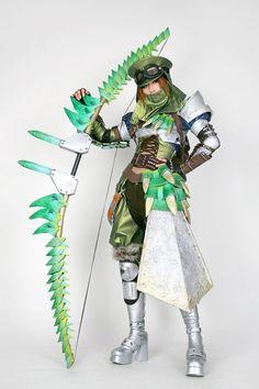 That's just plain impressive.  Monster Hunter:  Monster Hunter. I love the bow