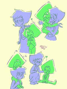 Imagen de adorable, blue, and drawing Steven Universe Lapidot, Steven Universe Ships, Steven Universe Drawing, Cartoon Tv Shows, Cartoon Memes, Cartoons, Lapis And Peridot, Lapis Lazuli, Amethyst