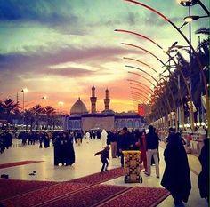أدركَ العآشِقون حقيقة #كربلاء ،، فـَ الموت في حب #الحسين بقاءُ ..~