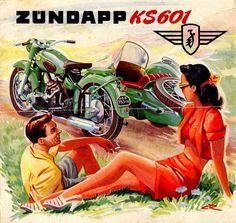 Zundapp KS 601 Poster