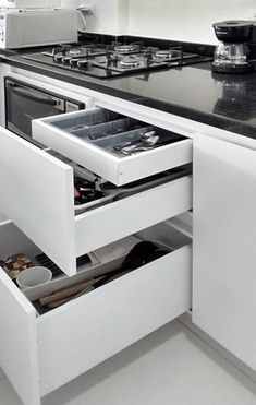 Modular Kitchen Accessories and Appliances For Indian Kitchen. Modular Kitchen Accessories and Appli Kitchen Room Design, Best Kitchen Designs, Kitchen Cabinet Design, Modern Kitchen Design, Home Decor Kitchen, Interior Design Kitchen, Kitchen Storage, Modern Kitchen Interiors, Modern Kitchen Cabinets