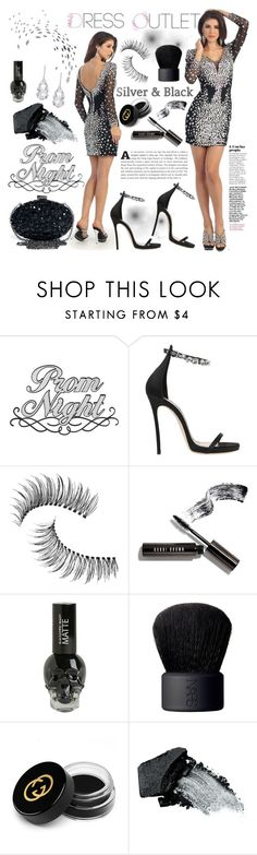 """""""THE DRESS OUTLET"""" by gaby-mil ❤ liked on Polyvore featuring Dsquared2, Trish McEvoy, Bobbi Brown Cosmetics, NARS Cosmetics, Gucci, Gorgeous Cosmetics, Plukka, Homecoming and thedressoutlet"""