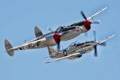 P-38 & P-51