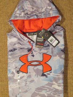 NWT Under Armour UA Running All Seasongear Fitted Men Neon Yellow Long Sleeve XL