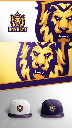 Royal Lion Mascot by Derrick Stratton