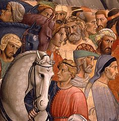 Leyenda de la Vera Cruz, 1380, Agnolo Gaddi