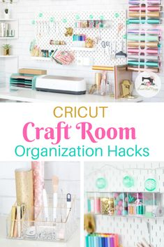 Craft and Sewing Room Organization Hacks Find out how to organize your craft and sewing room with these great tips and tricks!Find out how to organize your craft and sewing room with these great tips and tricks! Organisation Hacks, Organizing Hacks, Sewing Room Organization, Tips And Tricks, Home Decoracion, Cricut Craft Room, Craft Rooms, Sewing Rooms, Sewing Closet