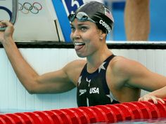 Natalie Couglin is an all-time great Olympian, and she definitely has the upper body of a swimming champion.