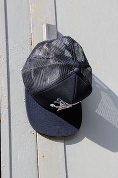 Thrasher Mag Mesh Cap in navy blue
