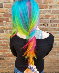 "352 Likes, 23 Comments - ☾New Jersey Unicorn Hair☽ (@lunar_locks_) on Instagram: ""I'm so incredibly jealous of her hair and obsessed with @kenraprofessional Neons!! Wait till you…"""