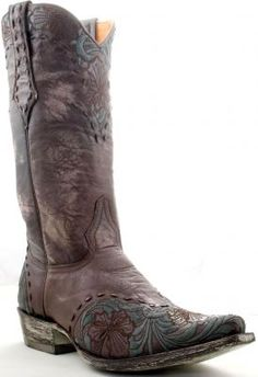 Mens Old Gringo Aaron Boots Chocolate #M679-1