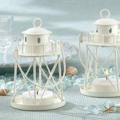 "By the Sea"""" Lighthouse Tea Light Holder"