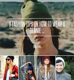 9 Fashion Tips on How to Wear a Beanie ... - Hair [ more at http://hair.allwomenstalk.com ] How to wear a beanie may seem like a simple enough question, and for the most part it is. Just stick it on your head and you're good to go, right? However, there are plenty of different styles of beanies and when it comes to how to wear beanies this season, there's more than meets the eye. Take a look at a few foolproof ways for how to wear your beanie r... #Hair #Fashion #Tips #Slouch #Windy…