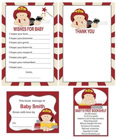 Fire Truck/Firefighter Baby Shower By FromHeadtoToeDesigns On Etsy | Fireman  Party / Baby Shower | Pinterest | Babies, Showers And Etsy