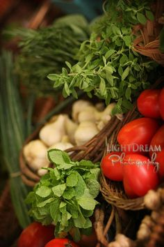 Herbs and Vegetables  Food Photography  Kitchen Art  by tonylaidig, $25.00