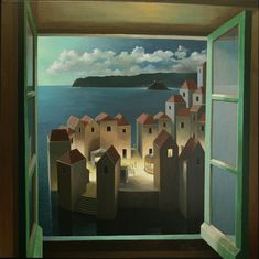 Michiel Schrijver, 1957   Surreal architecture painter   Tutt'Art@   Pittura * Scultura * Poesia * Musica  