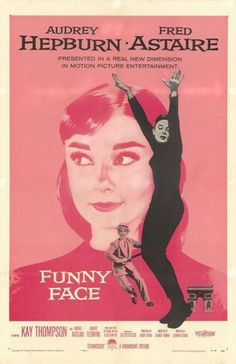 Movie poster for Funny Face, 1957