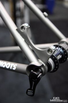 Very smooth.. :-) moots frame-detail:  xtr 32h rear hub 142x12
