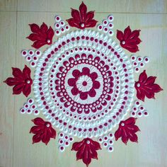 Very Easy And Cute Rangoli Designs using Funnel For New Year 2020 Rangoli Designs Latest, Simple Rangoli Designs Images, Rangoli Designs Flower, Rangoli Border Designs, Colorful Rangoli Designs, Rangoli Designs Diwali, Flower Rangoli, Beautiful Rangoli Designs, Diwali Rangoli