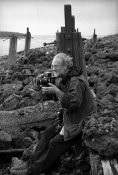 Joseph Koudelka with Fuji 617