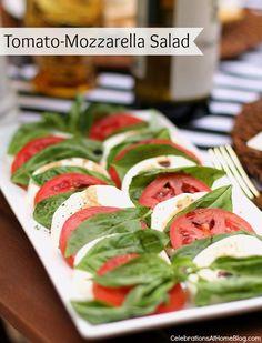 AL FRESCO DINNER PARTY MENU WITH RECIPES — Celebrations at Home