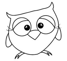 Owl Digital Stamp by yours truly, Dawn Moore