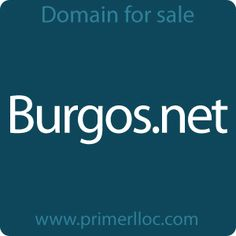 This #domain is for sale. #burgos #turismo