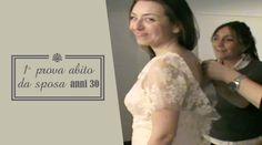 28. Abito da sposa anni 30: prima prova in sartoria