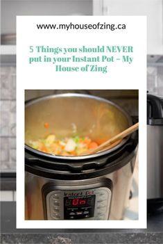 Simple tips to help you avoid some not-so-great Instant Pot results.