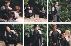 set photos for catching fire( you have to look at jennifer Lawrences face on the bottom right picture)