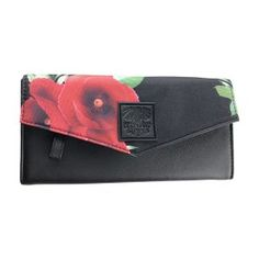 WILD POPPIES WALLET Wild Poppies, Leather Pouch, Wallets For Women, Travel Style, Happy Shopping, Vegan Leather, Elephant, Stripes, Handbags