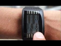 Tokyoflash Japan unveils the Kisai Online, tells the time in vertical lines