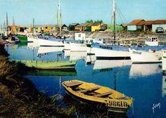 Le Port de Saint-Trojan-les-Bains, Île d'Oléron.