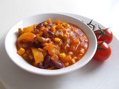 Mexický vegetariánsky guláš vás spoľahlivo zahreje