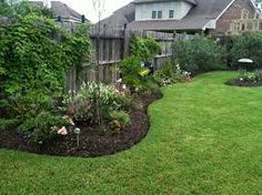 Alluring Front yard fence landscaping ideas,Garden fence gate diy and Fence ideas houzz. Privacy Fence Landscaping, Backyard Privacy, Backyard Fences, Backyard Landscaping, Landscaping Ideas, Backyard Ideas, Patio Ideas, Modern Landscaping, Landscaping Borders