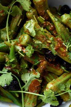 NYT Cooking: Even avowed okra-phobes love this salad, which is seasoned with a warm and earthy Moroccan spice blend. The okra cooks for only 2 minutes in salted water, and the resulting flavor and texture are somewhat reminiscent of asparagus. The salad tastes best at room temperature.