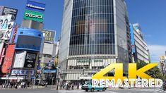 [Remastered] Shibuya Crossing - Tokyo - 渋谷スクランブル交差点 - 4K Ultra HD