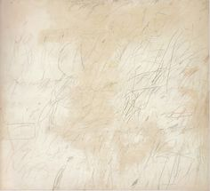 cy twombly - oil-based house paint + lead pencil + coloured pencil + wax crayon on canvas - arcadia Robert Rauschenberg, House Painting, Painting & Drawing, Cy Twombly Art, Abstract Expressionism, Abstract Art, Abstract Paintings, Led Pencils, Wax Crayons