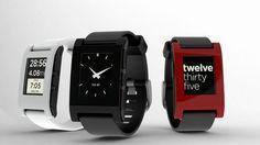 Een horloge die met je iPhone communiceert? Ontmoet #Pebble!