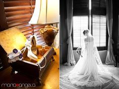 Wedding at The Club at the Strand in Naples, FL    Venue: The Club at the Strand  Dress: Pronovias by San Patrick (Style: Rincon from the 2012 Glamour Collection)  Hair: Sir Daniel from Salon Tease  Makeup: David Frohmberg from Faces by Frohmberg  Shoes: Nina  Videographer: Reel Treasures